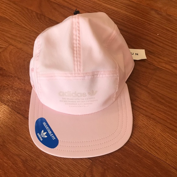 1415d70fd77 Adidas   Originals NMD 5-Panel Clear Pink Hat